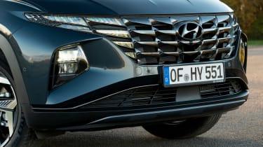 Hyundai Tucson SUV front bumper