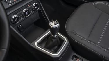 New Dacia Sandero gear lever