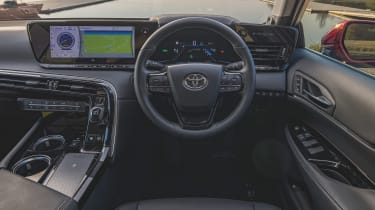 Toyota Mirai saloon interior