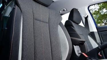 Skoda Kamiq SUV front seats