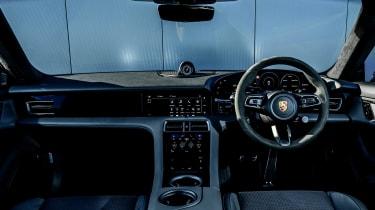 Porsche Taycan saloon interior