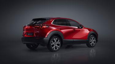 Mazda CX-30 SUV - Geneva - rear three quarters