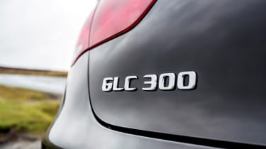 Mercedes GLC Coupe SUV rear badge