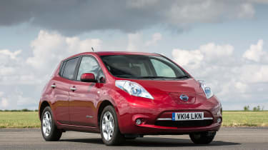 Its electric drivetrain aside, the Leaf is a practical and striking-looking five-door family hatchback