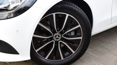 Mercedes C-Class saloon front alloy wheels
