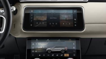 2021 Range Rover Velar P400e plug-in hybrid Pivi Pro infotainment system