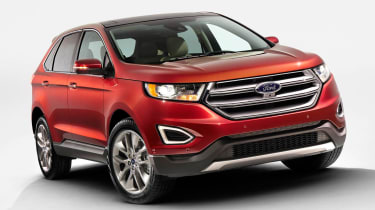 The Ford Edge's US roots are clear from how it drives as well as most obviously, how it looks.