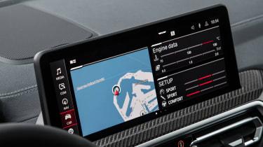 2021 BMW X4 M - infotainment