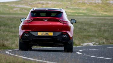 Aston Martin DBX SUV rear cornering