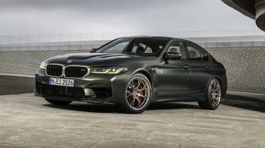 2021 BMW M5 CS - front 3/4 static