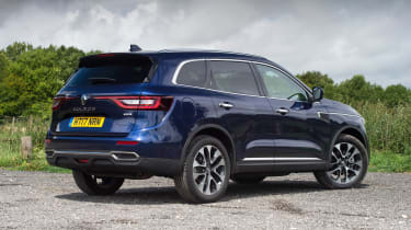 Choose the smaller engine and the Koleos is front-wheel-drive, while the 2.0-litre gets four-wheel-drive as standard