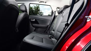 Kia Niro SUV rear seats