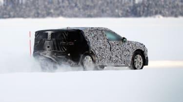 Ford Mondeo SUV spy shot - rear