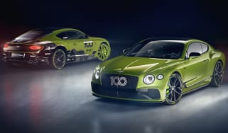 Bentley Continental GT Pikes Peak Limited Edition and the winning car