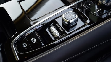 A number of driving modes can be selected to tailor the car's behaviour to your mood