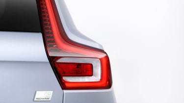 Volvo XC40 Recharge rear lights