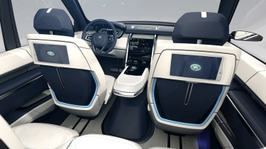 Land Rover Discovery SUV 2015 interior