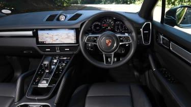 Porsche Cayenne S dashboard shot