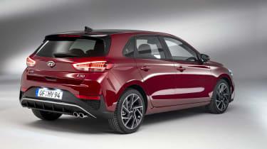 2020 Hyundai i30 N Line rear