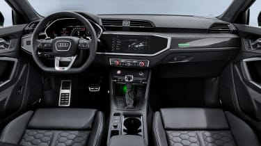 Audi RS Q3 Sportback interior - main view