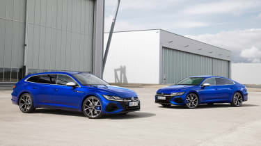 2020 Volkswagen Arteon R Shooting Brake estate and hatchback - static front view
