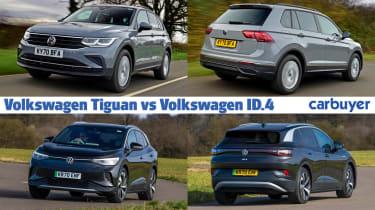 Volkswagen Tiguan vs ID.4 header