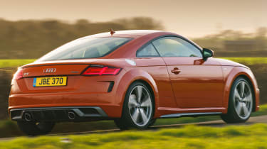 Audi TT Coupe rear tracking