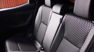 Toyota Yaris Hybrid rear seats