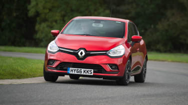 The Renault Clio is a stylish supermini which takes on the likes of the Ford Fiesta, Volkswagen Polo and Vauxhall Corsa