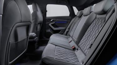 2020 Audi A3 Sportback - rear seats
