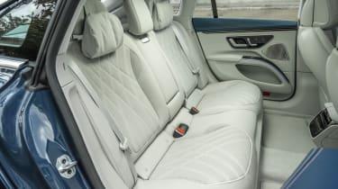 Mercedes EQS hatchback rear seats