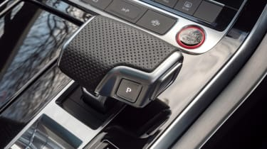 Audi SQ7 SUV gear selector