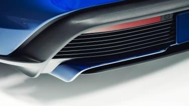 2020 Porsche Taycan - rear diffuser