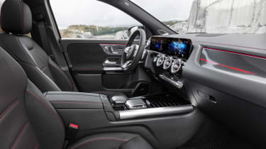 Mercedes GLA interior