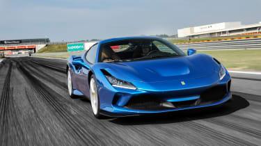 Ferrari F8 Tributo front tracking