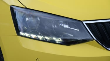 Also available are LED daytime running lights