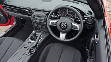 MAzda MX-5 Interior view