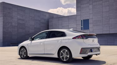 Hyundai Ioniq Plug-in Hybrid rear/side view