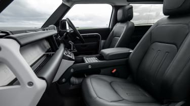 2020 Land Rover Defender 90 - interior and dashboard