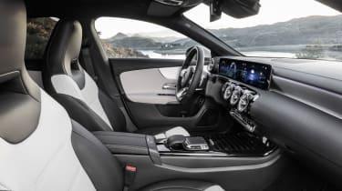 2019 Mercedes CLA Shooting Brake - interior front