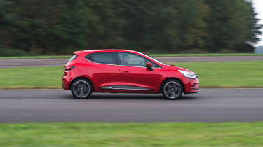 Thanks to decent refinement and comfort, the Renault Clio is adept at motorway driving