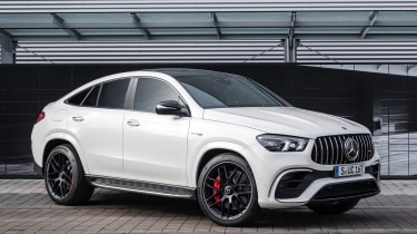 2020 Mercedes-AMG GLE 63 S Coupe front 3/4 static