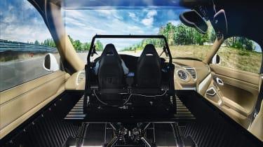 Electric Porsche Macan - virtual cockpit development
