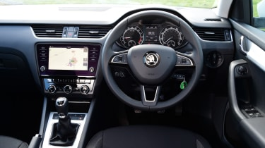 Skoda Octavia Estate - interior