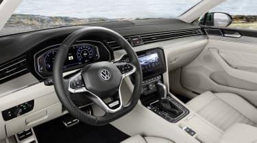 2019 Volkswagen Passat AllTrack interior quarter