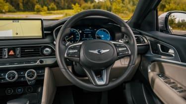 Genesis G70 saloon steering wheel