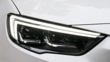 Vauxhall's excellent LED matrix headlights are an optional extra and are worth the extra money