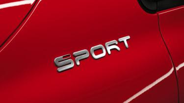 Fiat 500X Sport badge