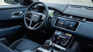 Range Rover Velar SUV dashboard