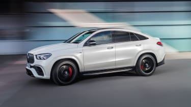 2020 Mercedes-AMG GLE 63 S Coupe front 3/4 tracking
